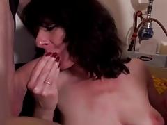 Sexy French Wife Has A Smokin' Male+Male+Female !