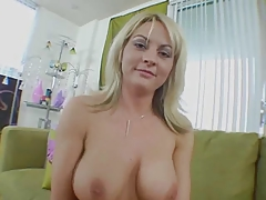 Golden-haired MILF accepts screwed