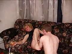 Russian MILF and guy - 8