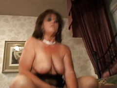 Perspired Sexually excited Melodious Dark hair Cougar