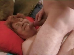 Real Grandma 81 does not Fancy to Swallow