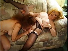 Oldschool Fourway Shows Off Slut's Ability To Take in Cock