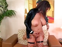 Buxom British Cougar Raw Ramrod Riding