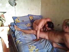 Russian duet love making act on livecam part1
