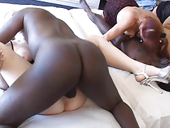 gangbang matures interracial creampies