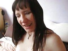 Lady V receives a messy facial