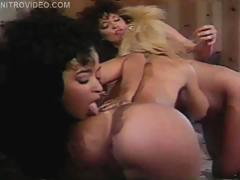 Classic Pornstars Nina Hartley And Nina Deponva