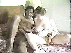 White wife with ebony boy -  Teen Interracial Homemade