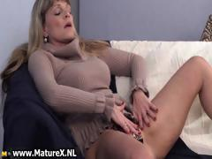 Older mature blonde womain with worthy part4