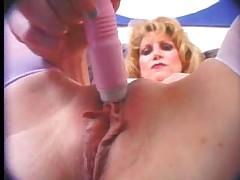 Sweet MILF & Her Vibrator