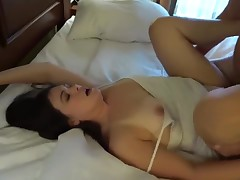 Slut Wife Threesome and Twofold Facial