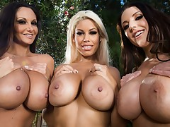 Most excellent Of Brazzers: Titty Tuesday Shoot Movie With Bridgette B & Ava Addams & Marc Rose & Dillion Harper & Lena Paul & Angela White - Brazzers