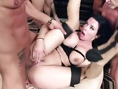 Hardcore porn motion picture featuring Bonnie Rotten and Veronica Avluv