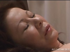 Chizuru Iwasaki moist ripe Japanese chick is drilled hard