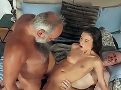 Young girls vs OldMan #3