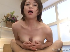 A lady satisfy her pines for some special love now and then. This mature hottie named Kanzaki shows us all how much this chick pines for stick and semen. This chick begins to finger her twat in tummy of the cam and then shows I am that perspired booty. I'